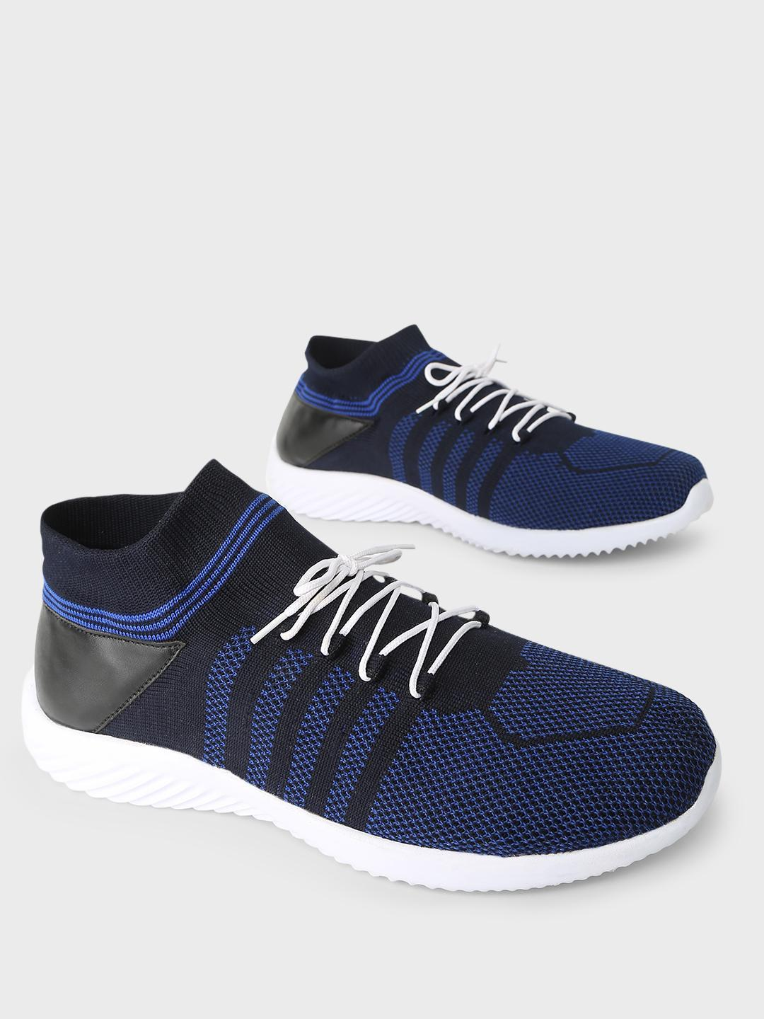 KLEAT Blue Flyknit Upper Lace-Up Shoes 1