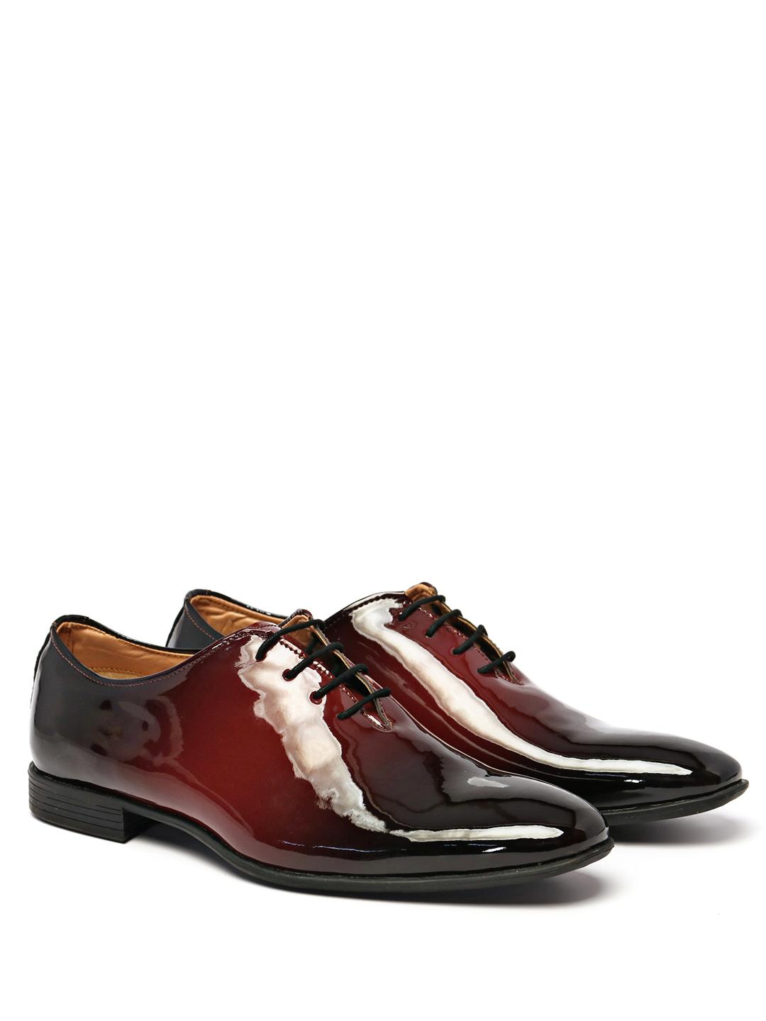 KLEAT Multi Two-Tone Patent Oxford Shoes 1