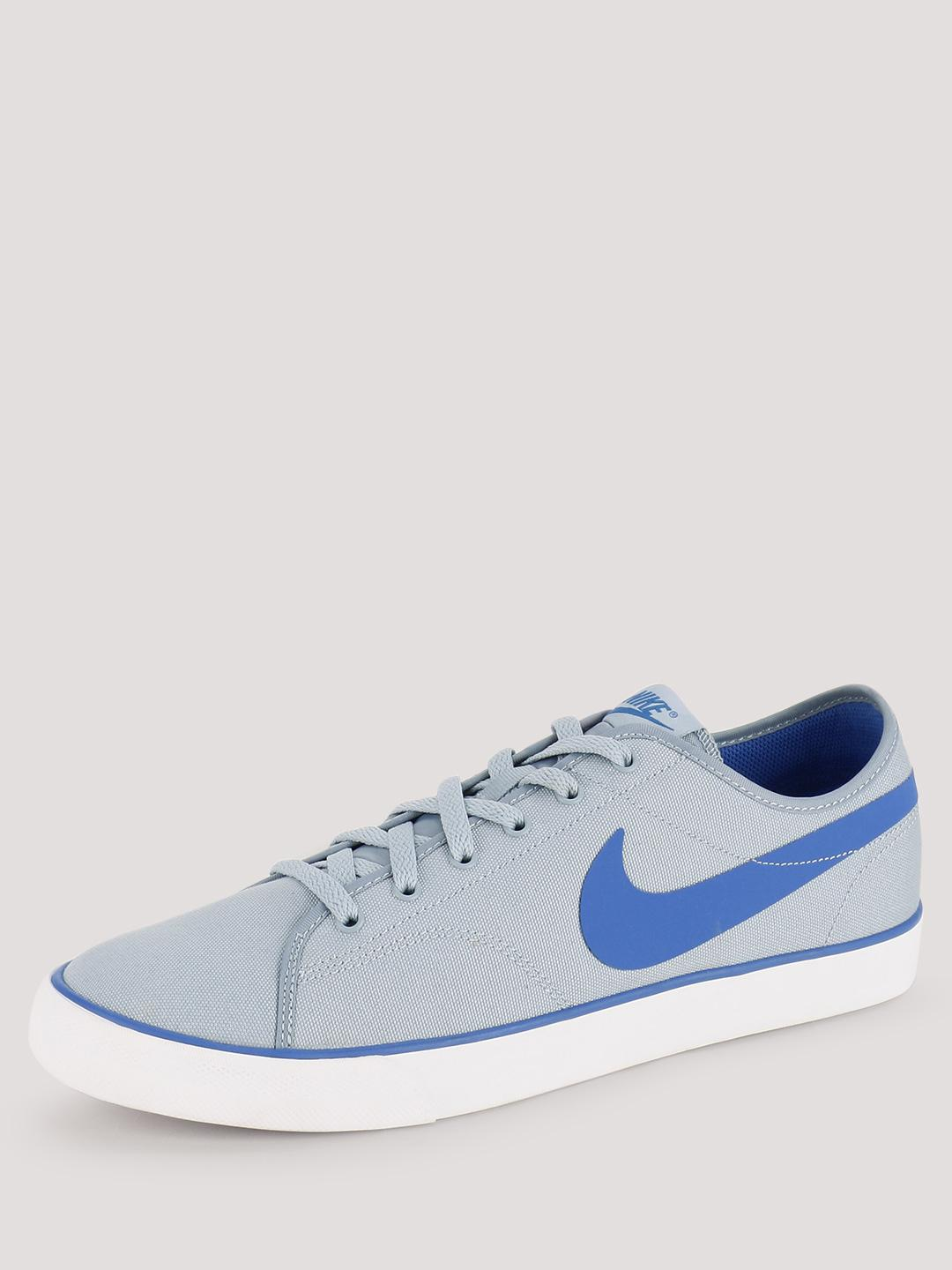 Nike BLUE GREY/HYPER COBALT-WHITE Primo Court Trainers 1