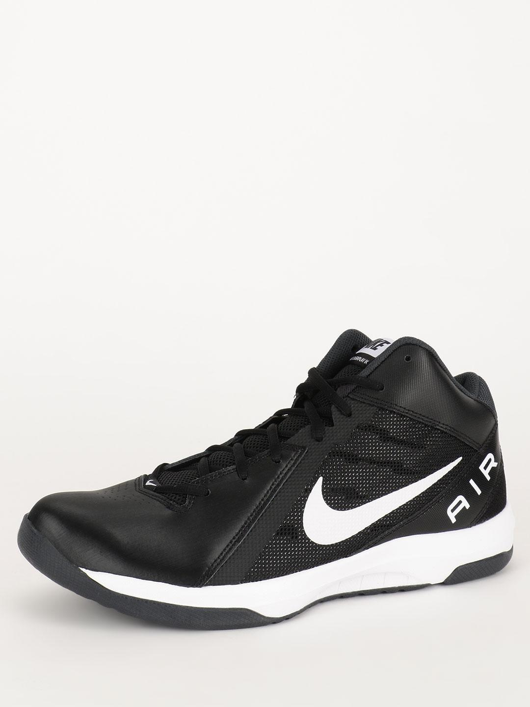 Nike Black/White/Anthracite/Dark Grey The Air Overplay IX Trainers 1