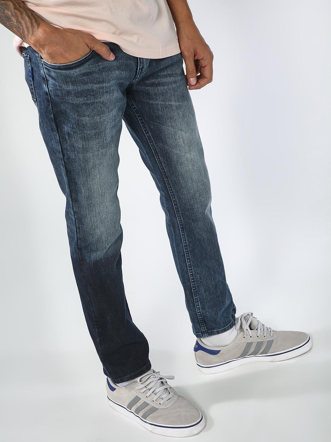 Blue Saint Blue Light Wash Slim Fit Jeans 1