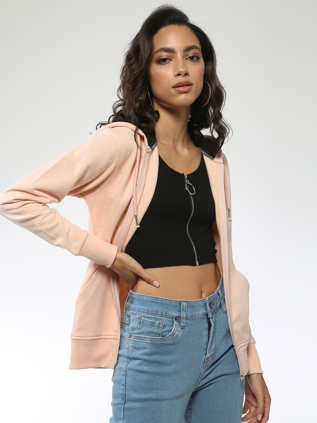 Blue Saint Pink Basic Regular Fit Jacket 1