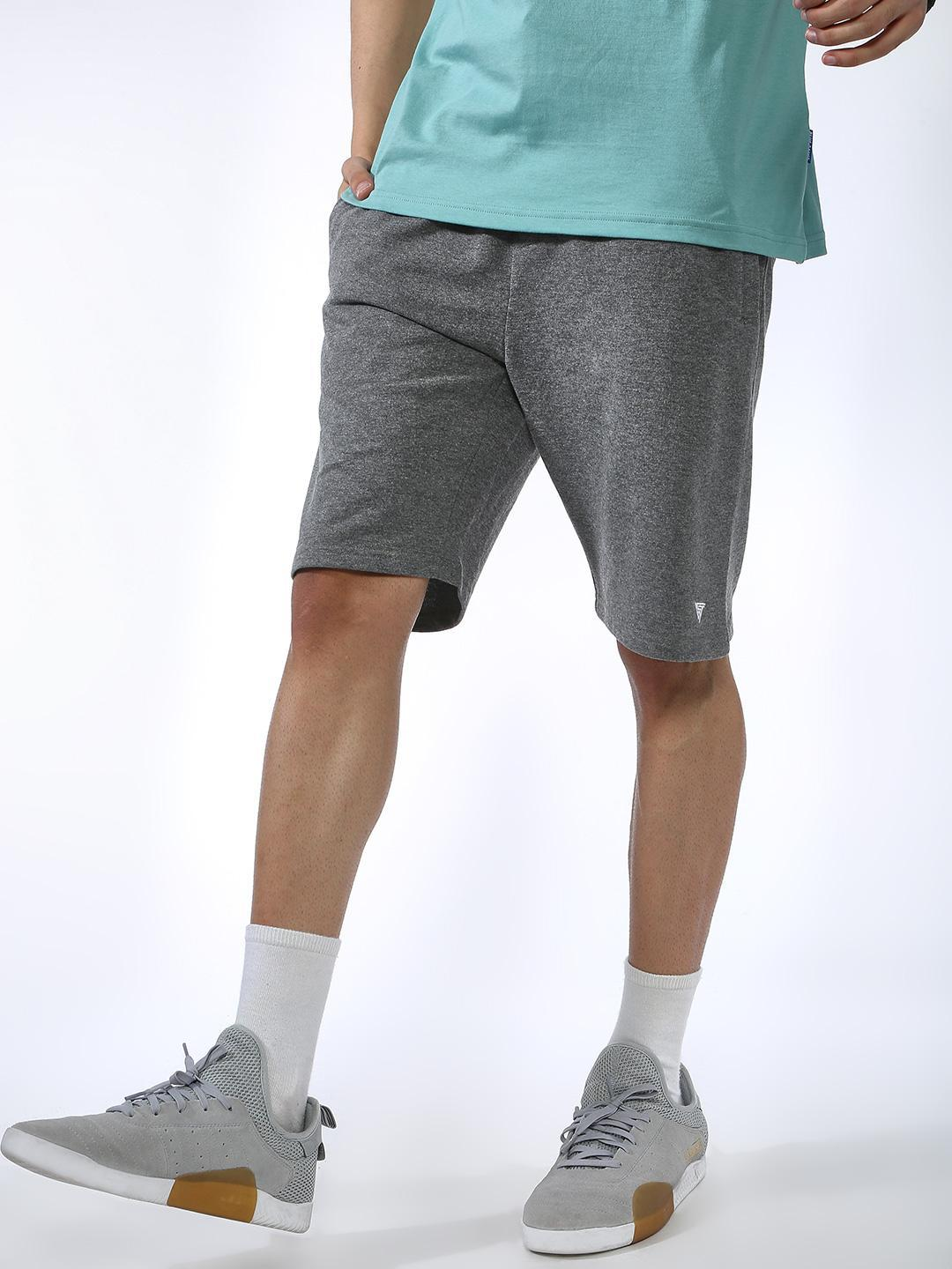 Blue Saint Grey Drawcord Waist Regular Shorts 1