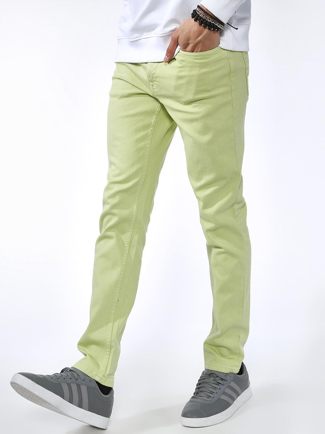 Blue Saint Green Basic Skinny Fit Jeans 1