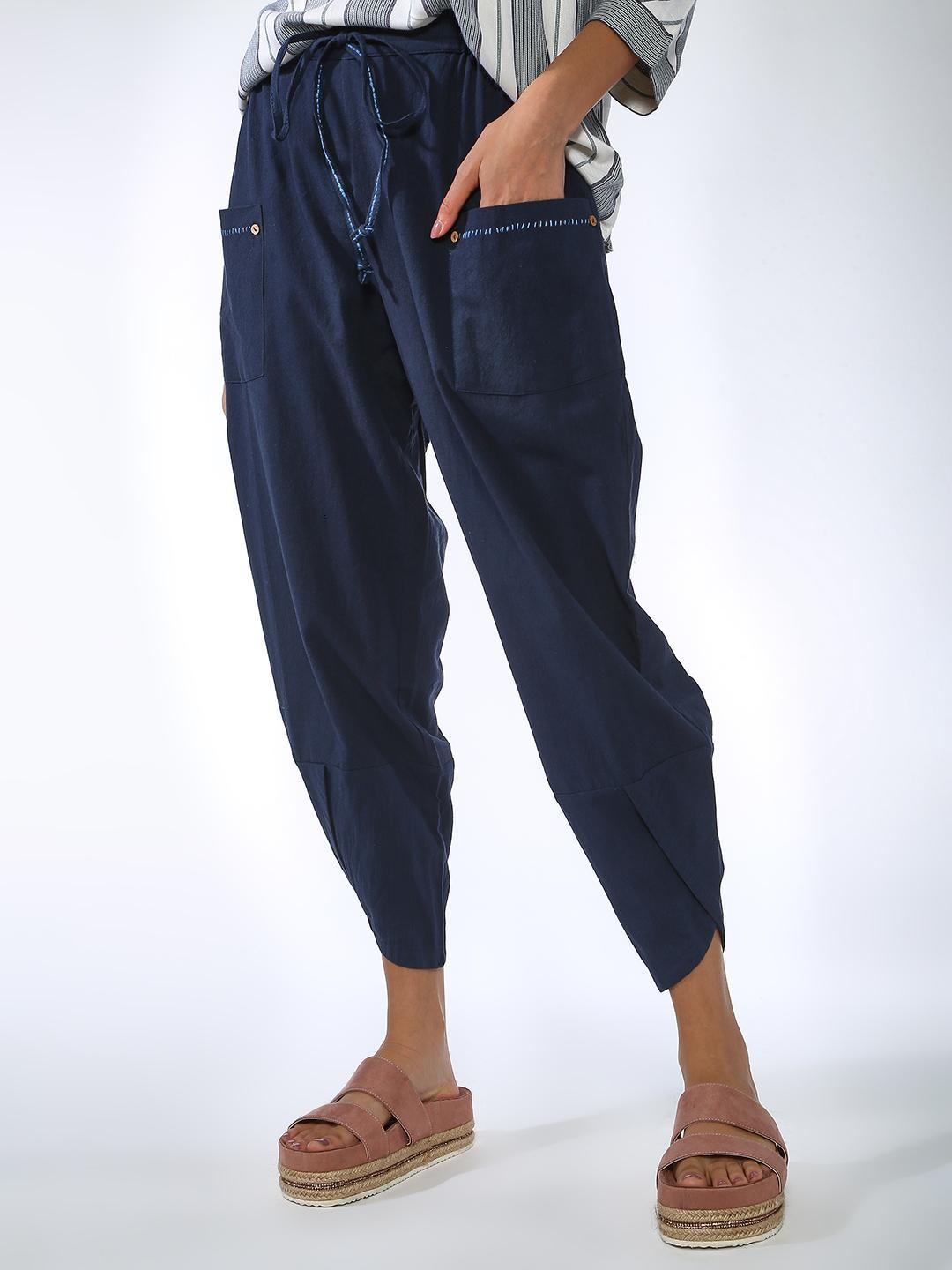 Vajor Navy Casual Lounge pants 1