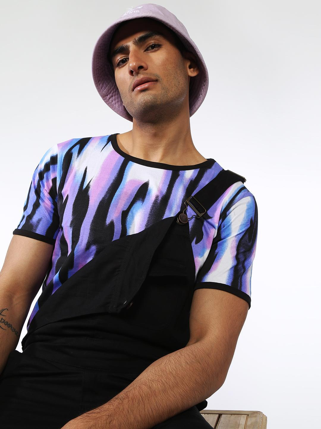 IMPACKT Multi All Over Print Half Sleeves T-Shirt 1
