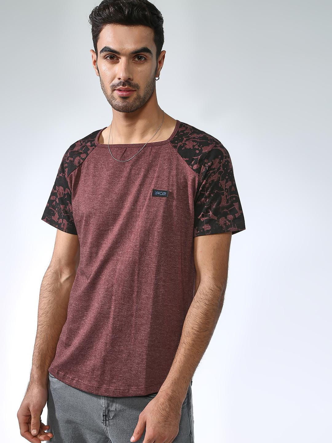 IMPACKT Multi Side Camo Print Short Sleeves T-shirt 1