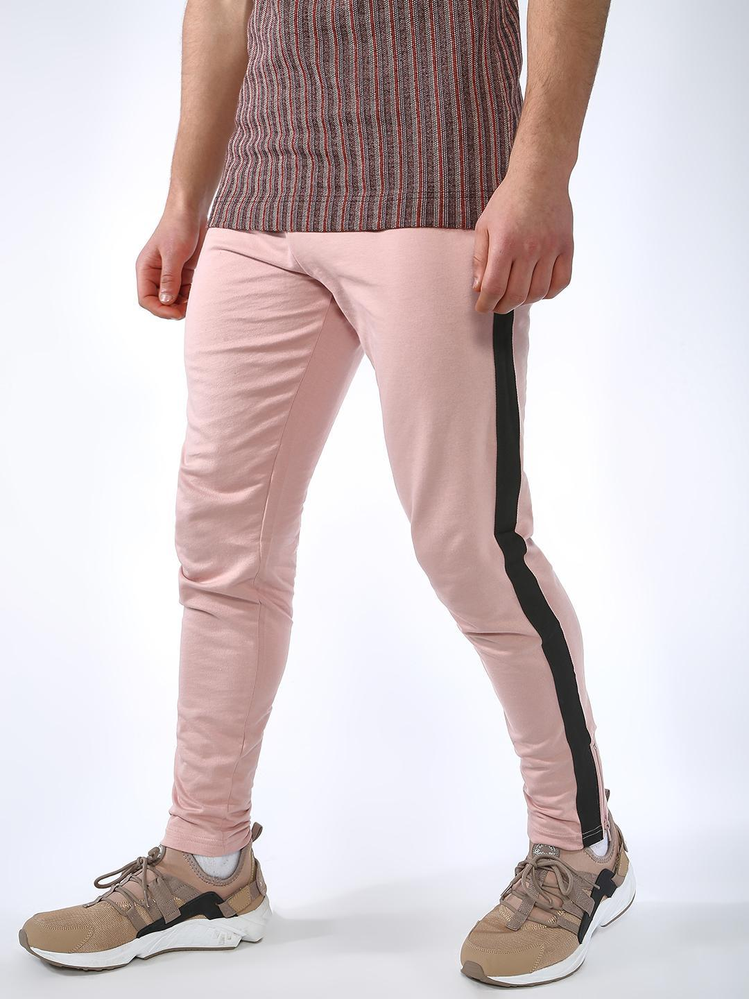 Blue Saint Pink Side Tape Slim Fit Jogger 1