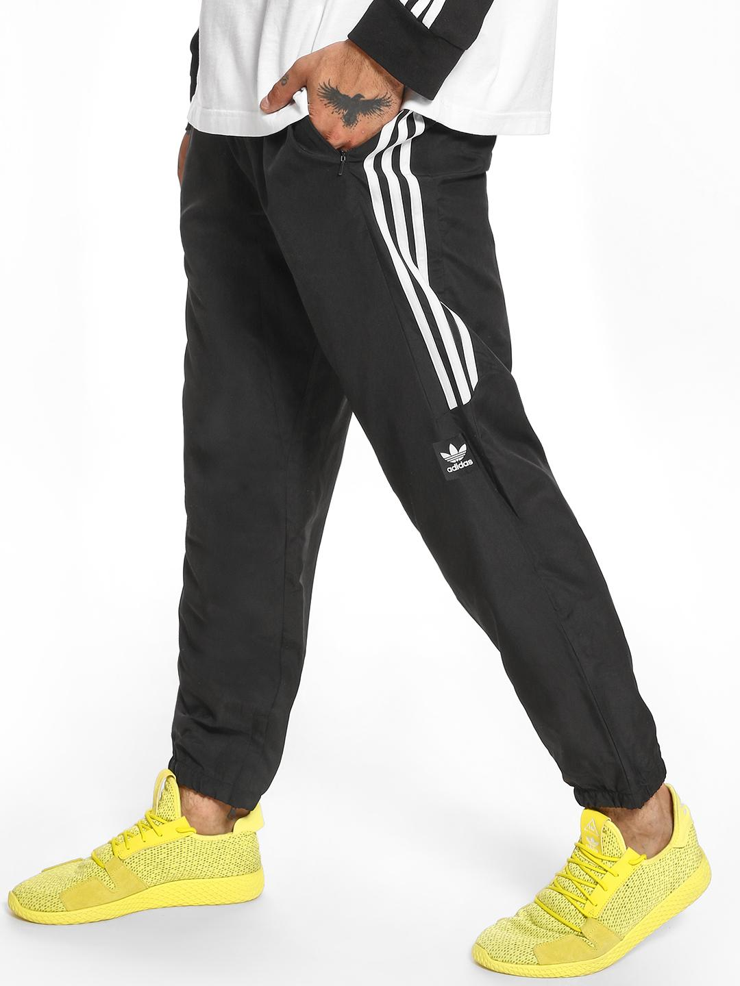 Adidas Black Skateboarding Wind Track Pants 1
