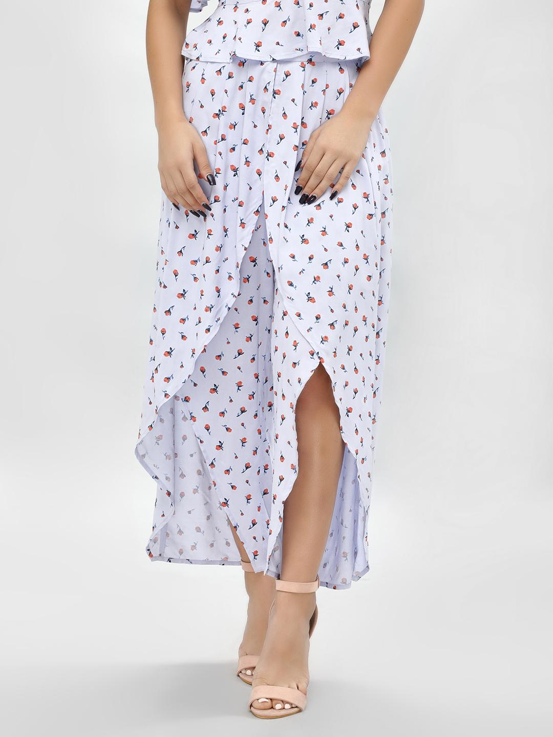 KOOVS Multi Split Front Printed Trousers 1