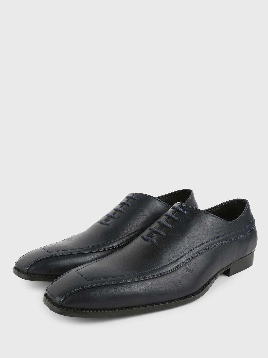 Griffin Navy Cut & Sew Oxford Formal Shoes 1