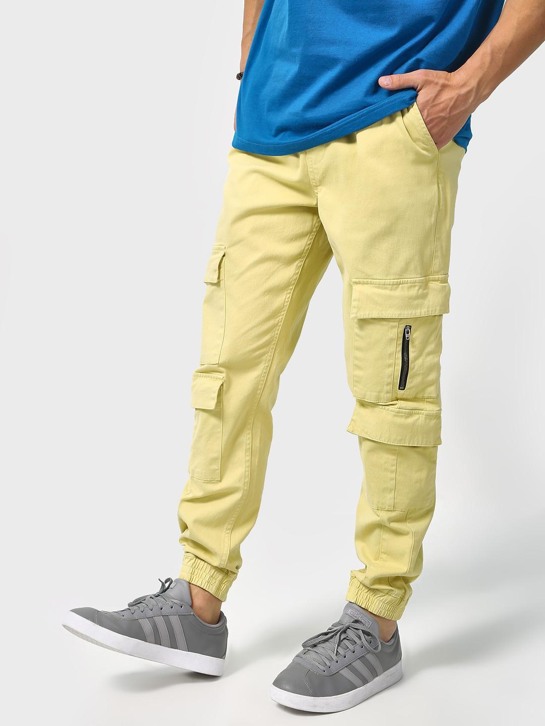 Blue Saint Pale green Cuffed Hem Utility Pocket Jog Pants 1