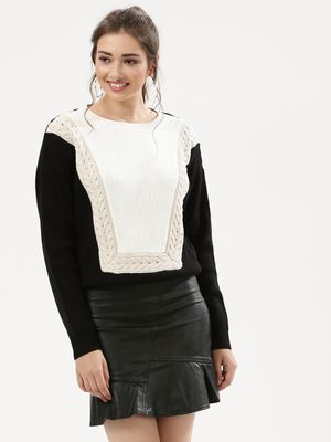 Urban Bliss Nana Cable Bib Jumper