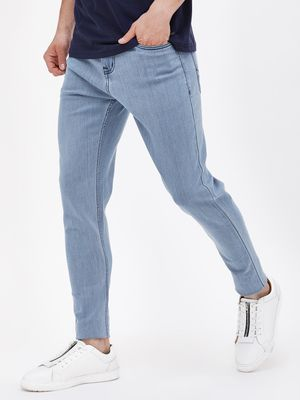 K Denim KOOVS  Light Wash Skinny Fit Jeans