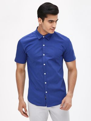 KOOVS Muscle Fit Smart Shirt