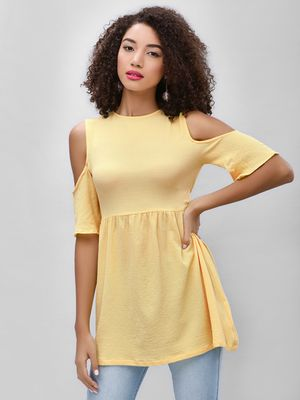 KOOVS Cold Shoulder Mini Dress