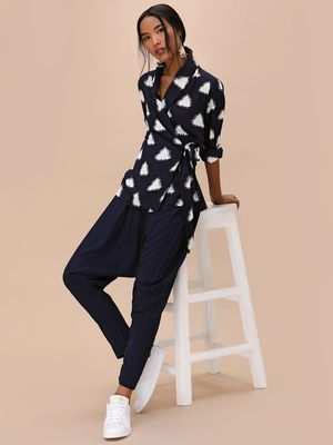 KOOVS Drop Crotch Tailored Pants