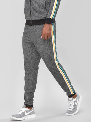 KOOVS Textured Side Tape Joggers