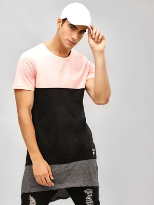 Kultprit Color Block Super Longline T-Shirt