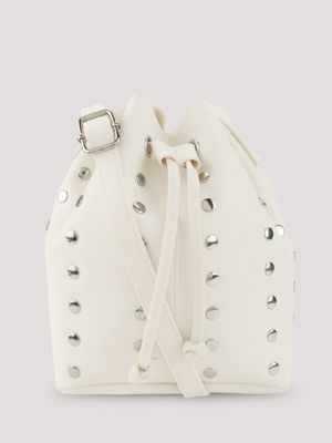 New Look Studded Bucket Sling Bag
