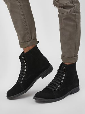 KOOVS Double Layer Ankle Boots