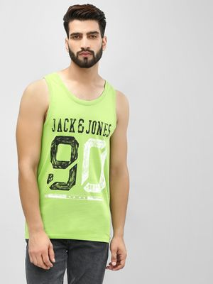 Jack & Jones Printed Scoop Neck Vest