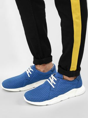 KOOVS Knitted Pattern Running Shoes