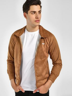 Garcon Suede Long Sleeve Jacket