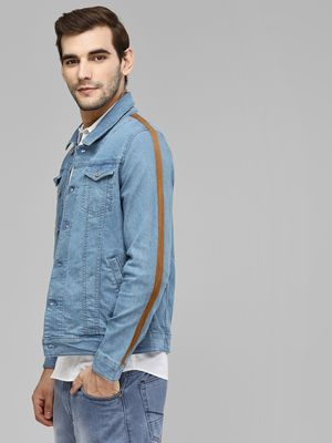 Blue Saint Side Tape Denim Jacket
