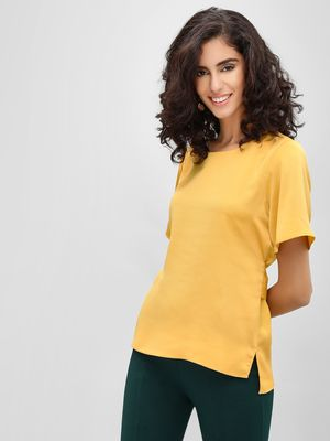 Cover Story Round Neck Top