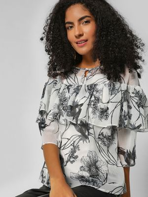 HEY Sparrow Printed Top