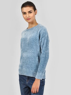 New Look Textured Long Sleeve Pullover