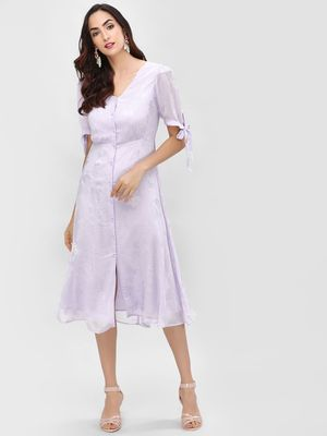 Cover Story Plain Midi Dress