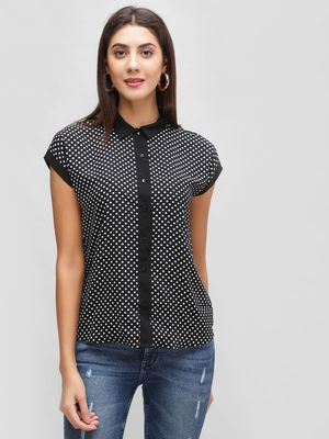 Cover Story Polka Dot Shirt