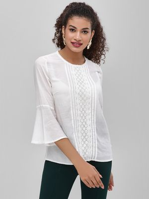 Cover Story Lace Detail Blouse