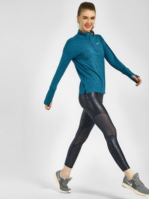 Nike Metallic Finish Power Tights