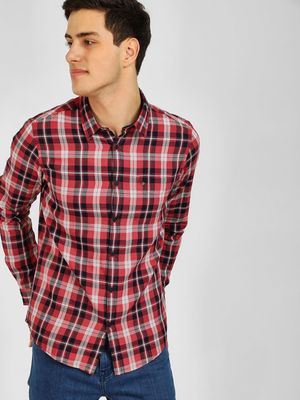 Lee Cooper Yarn Dyed Check Shirt