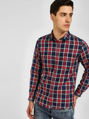 Lee Cooper Check Long Sleeve Shirt