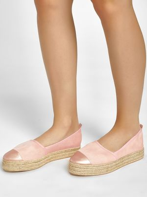 KOOVS Basic Stacked Espadrilles