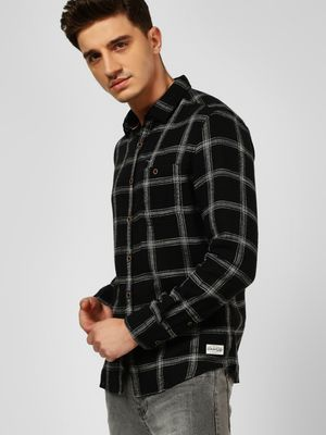 Flying Machine Long Sleeve Woven Check Shirt