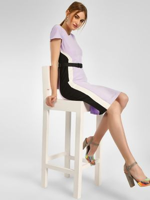 KOOVS Colour Block Bodycon Dress