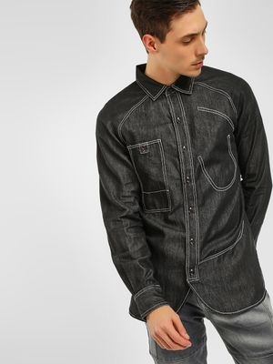 Noble Faith Denim Long Sleeves Shirt
