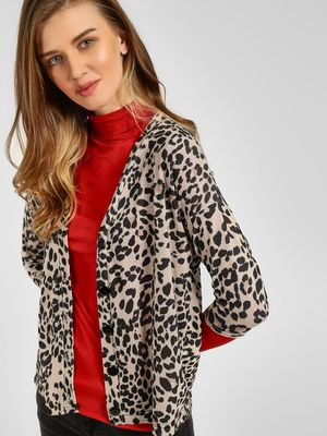 New Look Leopard Print Cardigan