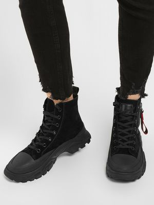 Sole Story Chunky Sole Hi-Top Shoes