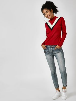 Cover Story Light Washed Skinny Jeans