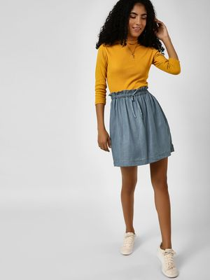 Cover Story Paperbag Mini Skirt