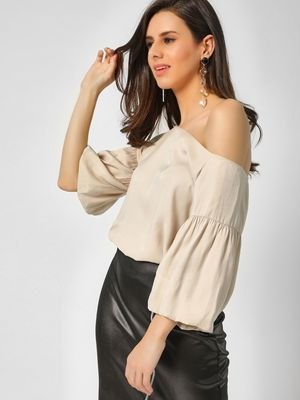 Cover Story Bell Sleeves Off Shoulder Top