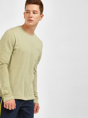 Celio Crew Neck Striped T-Shirt