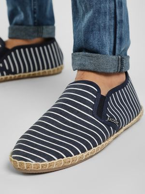 KOOVS All Over Stripe Espadrilles