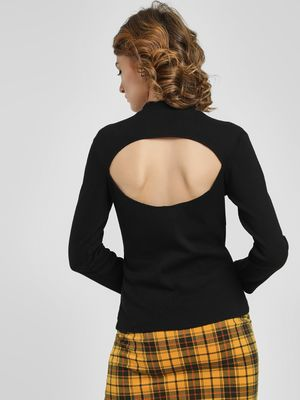 Ri-Dress Back Cutout Top